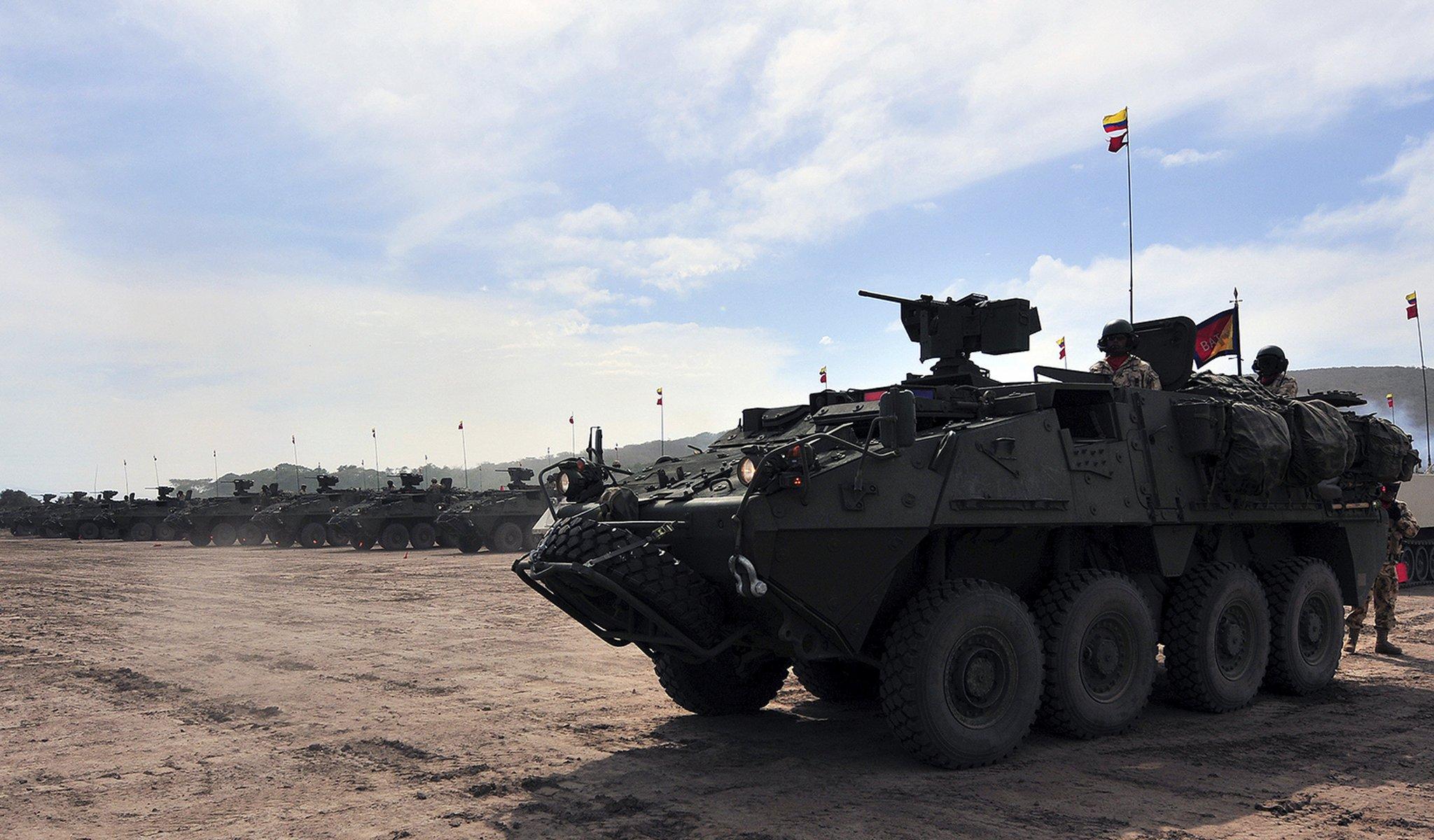 Seven human rights violators buying Canadian military goods