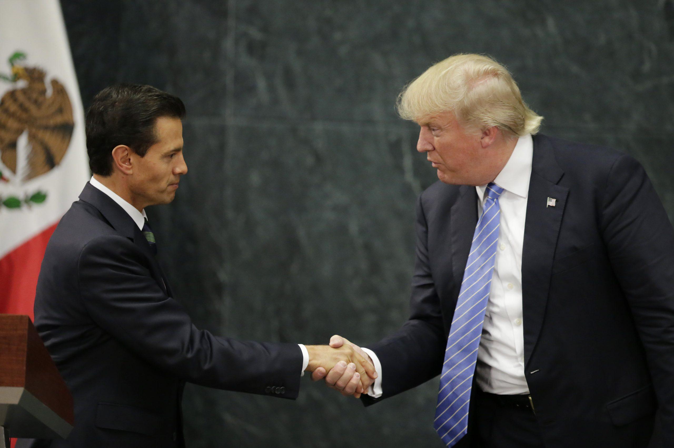 A disastrous Trump visit