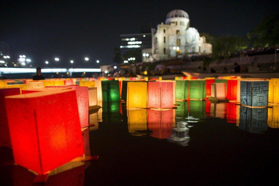 Hiroshima marks 70 years since the bomb