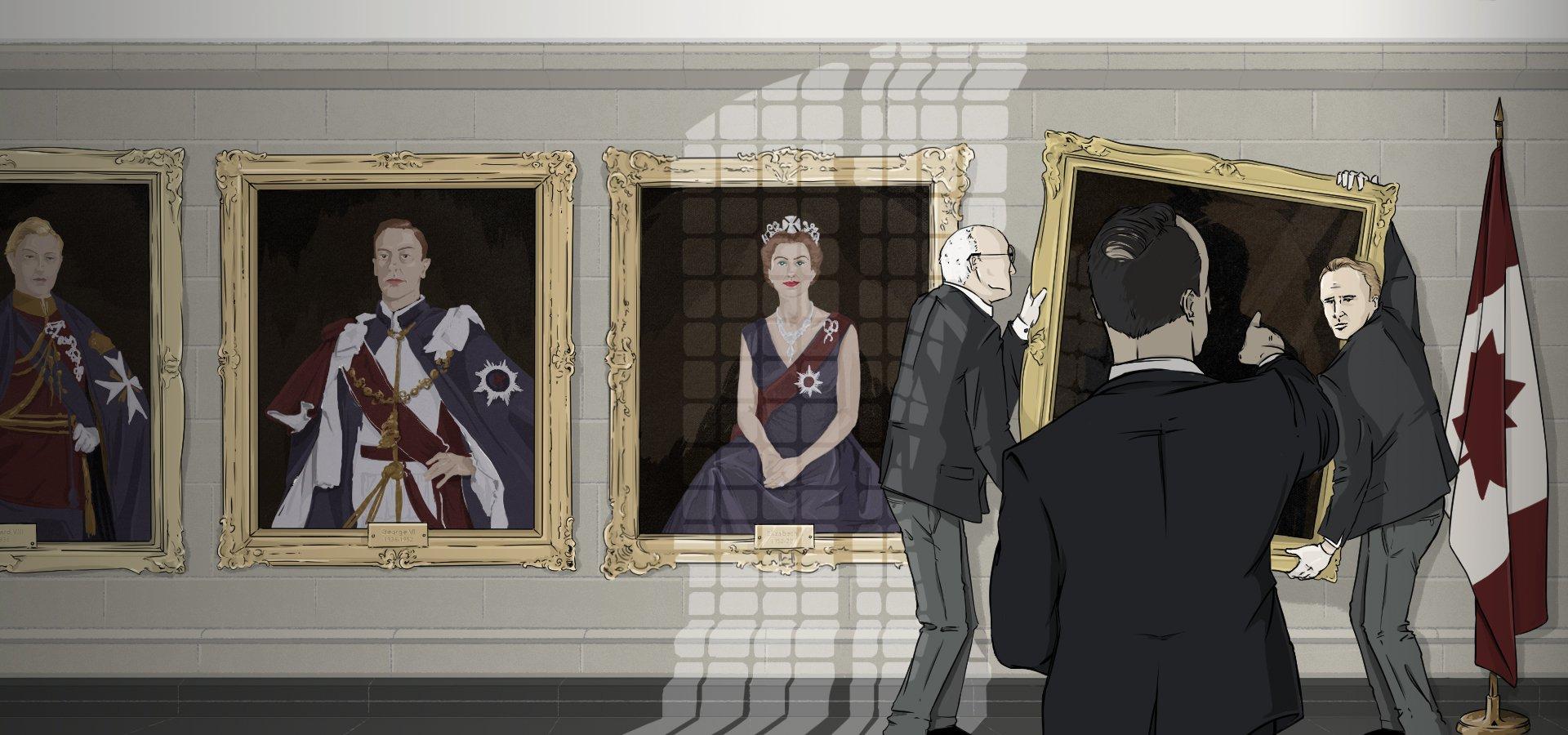 End of a royal era