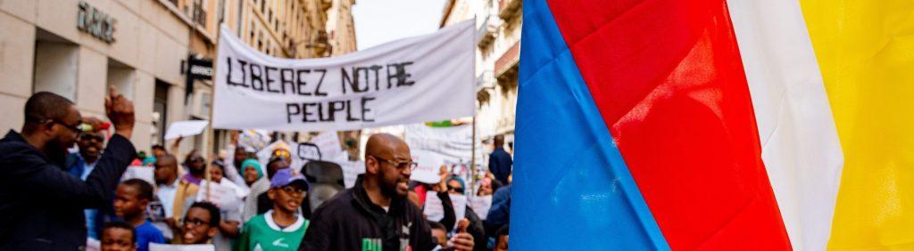 Manifestation Anti Azali à Lyon