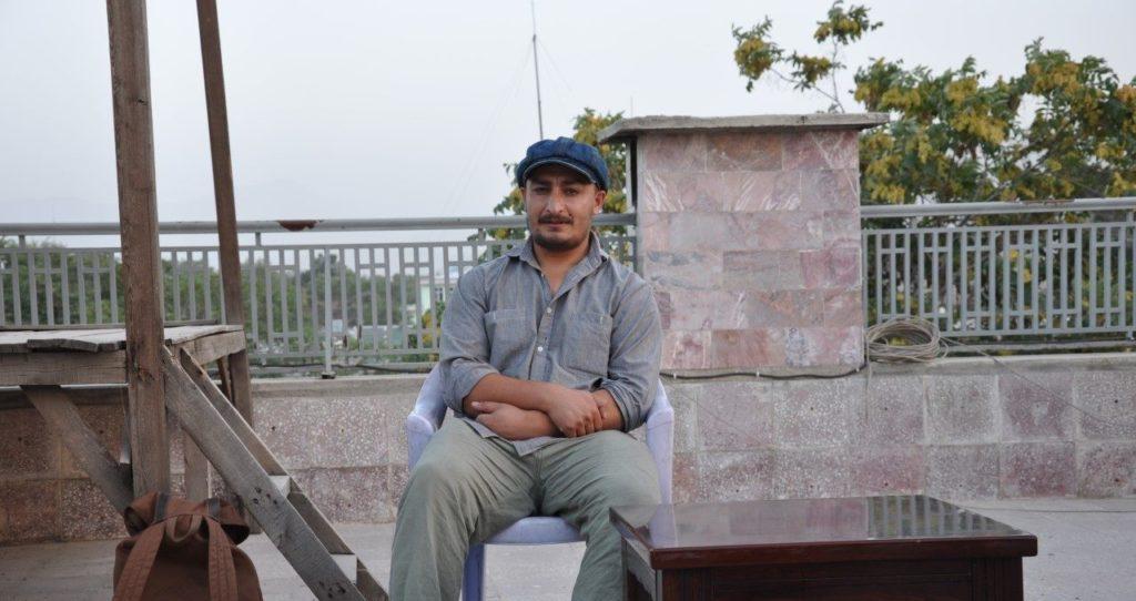 Habib Zahori in Kabul, photo by Haris Kakar
