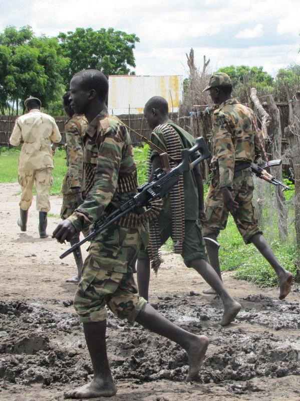 South Sudan,a failed state