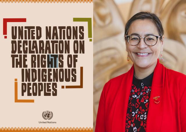 Droits  autochtones : Entrevue avec Michèle Audette